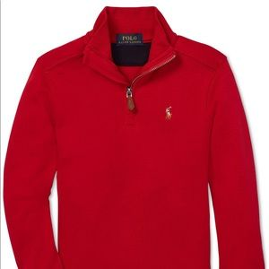 Polo Ralph Lauren Boys Half-Zip Supima Pullover
